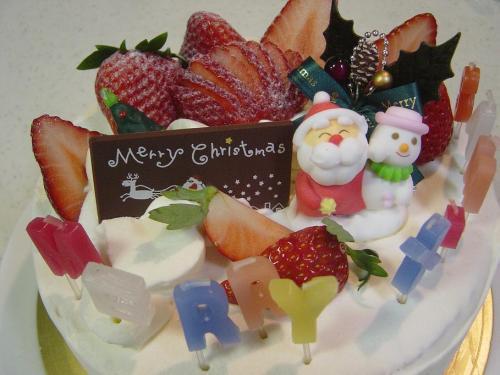 20091225クリスマスケーキ1