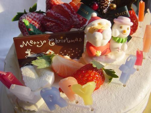 20091225クリスマスケーキ2