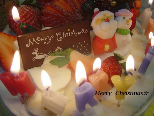 20091225クリスマスケーキ3