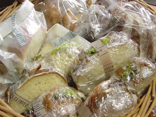 20100102実家へパン&お菓子いろいろ
