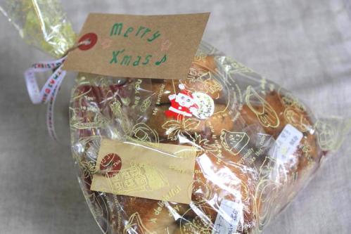 20101219Rくんのベーグル&クッキーa