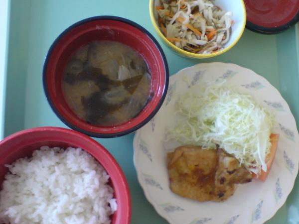 二日目のお昼ごはん。