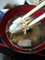 牡蠣おつゆ