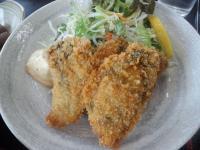 牡蠣フライアップ
