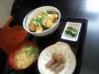 牡蠣丼定食