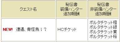 HCクック亜種 アナザー