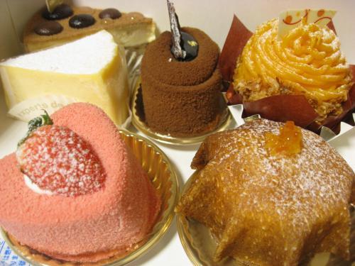 オーベルニュー ケーキ