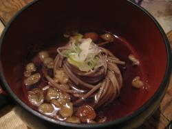 鶴の湯 蕎麦
