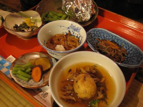 鶴の湯 夕食