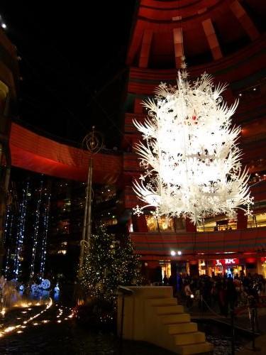 キャナルシティ- クリスマス イルミネーション