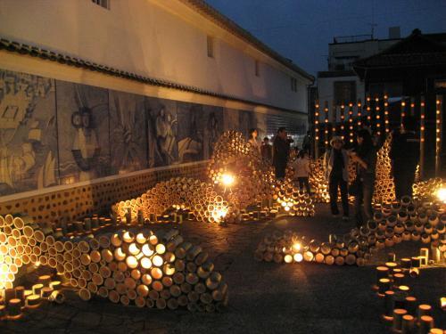うすき 竹宵祭り