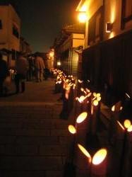 臼杵 竹宵祭り