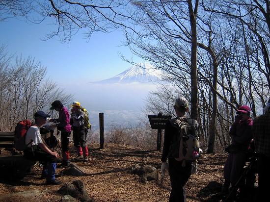 長者ヶ岳山頂