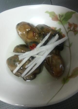 牡蠣のオイル漬け(4)
