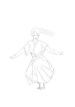 ARIA~独唱の意~.下絵jpg
