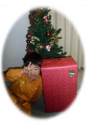 6歳のお誕生日&クリスマスイブ2009ー03