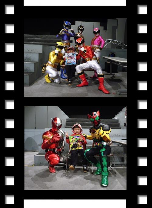 映太秦映画村2011-スーパーヒーローダンスサイン会