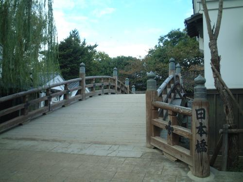 太秦映画村2011-村の中ー日本橋02
