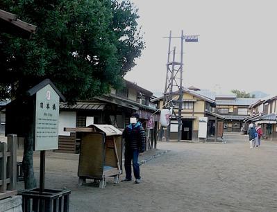 太秦映画村2011-村の中ー火の見やぐら
