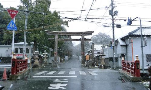 雪景色の伊太祁曽神社2011.02.11-01