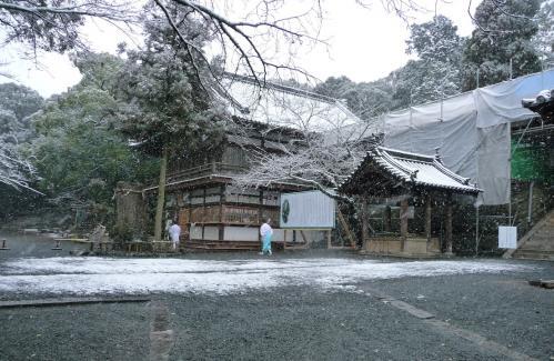 雪景色の伊太祁曽神社2011.02.11-06