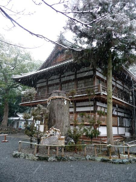 雪景色の伊太祁曽神社2011.02.11-09