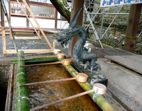 雪景色の伊太祁曽神社2011.02.11-12