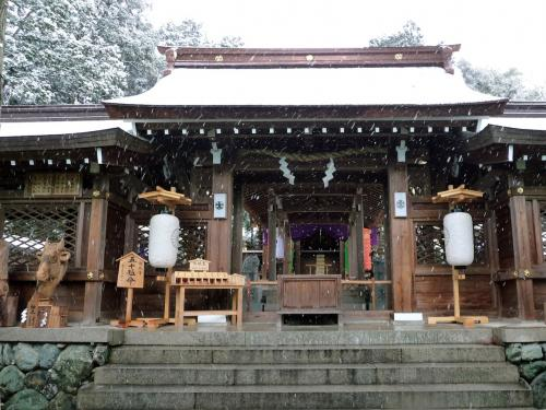 雪景色の伊太祁曽神社2011.02.11-13