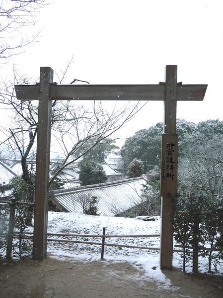 雪景色の伊太祁曽神社2011.02.11-14