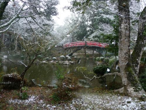 雪景色の伊太祁曽神社2011.02.11-15