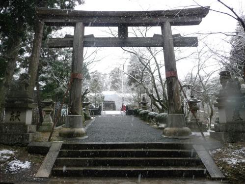 雪景色の伊太祁曽神社2011.02.11-17