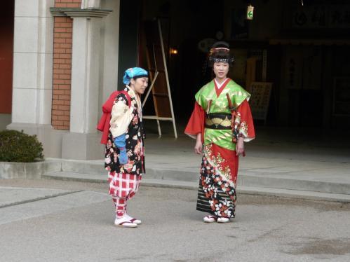 映太秦映画村2011-村の中ー村民01