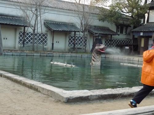 映太秦映画村2011-村の中ー恐竜