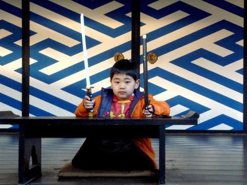 映太秦映画村2011-村の中ーお白洲で01