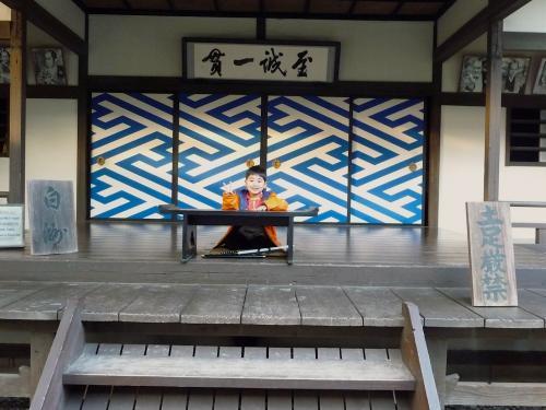 映太秦映画村2011-村の中ーお白洲で