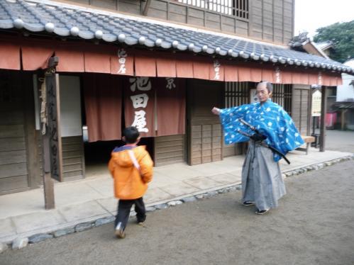 太秦映画村2011-村の中ー池田屋01