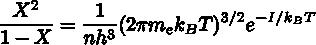 サハの電離公式