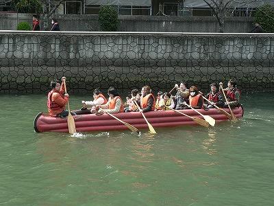摂南大学の学生さんによるEボート
