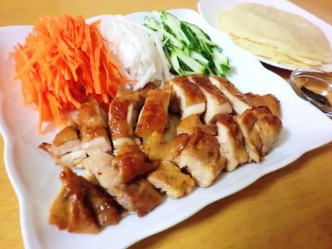 もも肉de北京ダック風