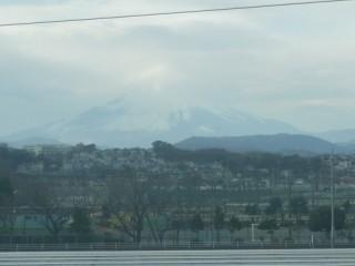 2011年初の富士山