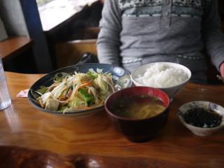 野菜ちゃんぷるー定食