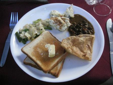 クシナガラ朝食
