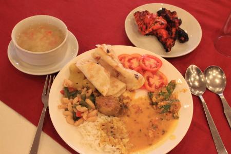 竹林精舎 昼食