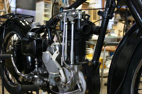 造形美溢れるエンジン