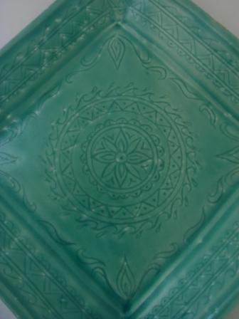 ②角皿インド紋アップ