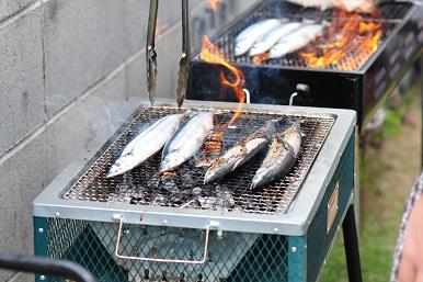旬の秋刀魚登場
