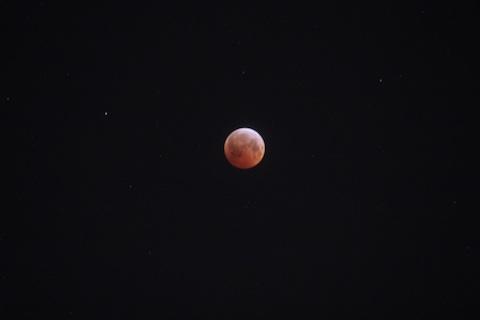 皆既月食9