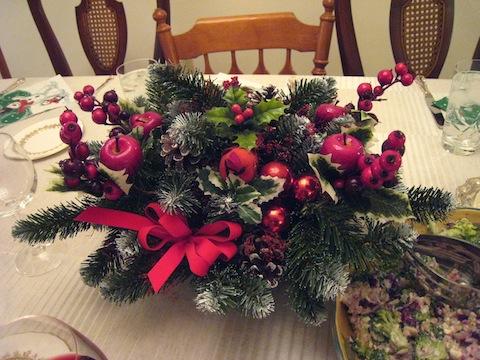 クリスマスディナー3
