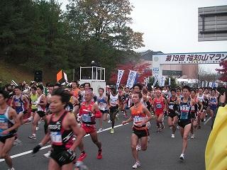 福知山マラソン1