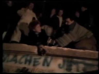 ベルリンの壁崩壊 壁削り